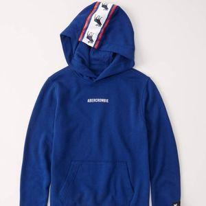 Abercrombie 13/14 logo hoodie